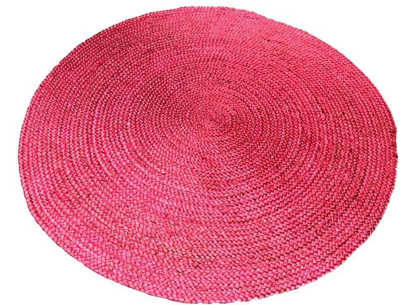 Vloerkleed Kinderkamer Rond : Zacht roze jute rond vloerkleed lief pastel merel in wonderland