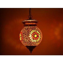 Hanglamp oranje rood