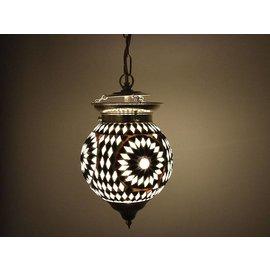 Hanglamp zwart wit