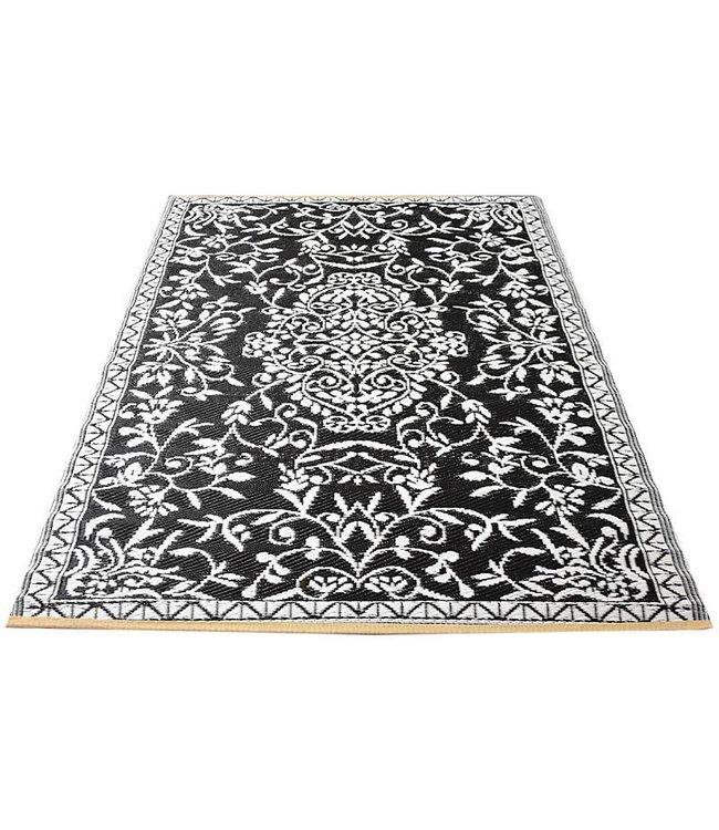 Beste Zwart wit buitenkleed orientaals - Merel in Wonderland MR-19