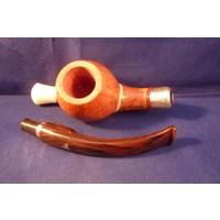 Pipe Luigi Viprati ** Special with Double Silver