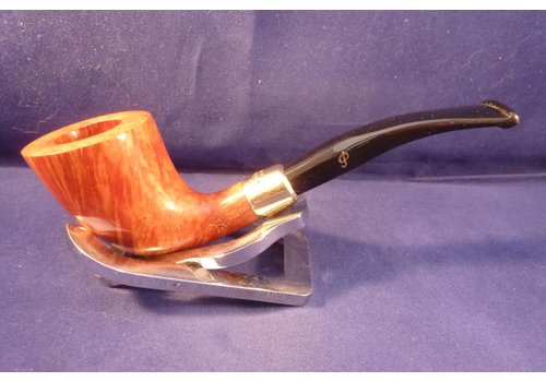 Pipe Peterson Gold Mounted Calabash