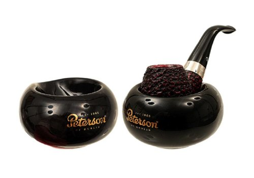 Pipe Stand Peterson Ceramic Black