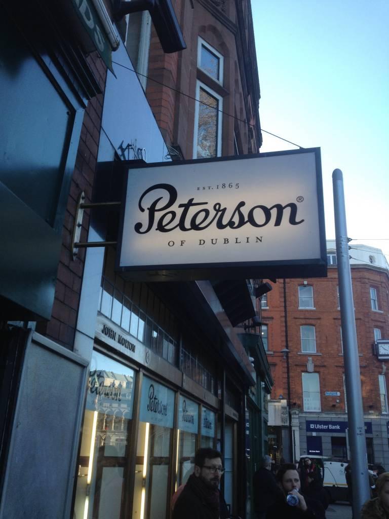Bezoek aan Peterson in Dublin