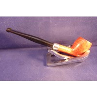 Pipe Peterson Belgique Natural Army Silver Mounted