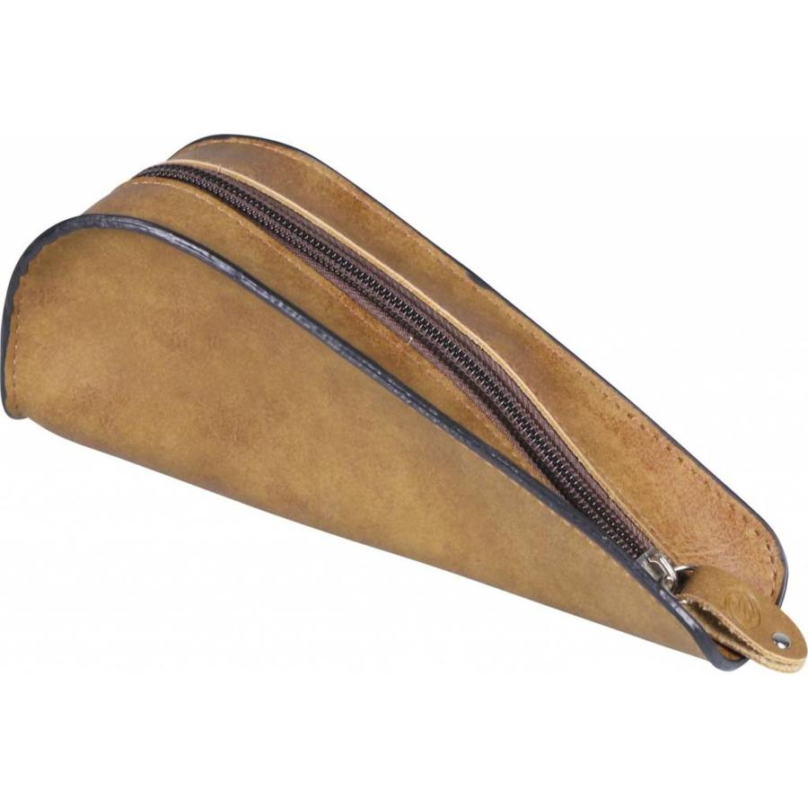 Nappa Pipe Pouch for 1 pipe Brown