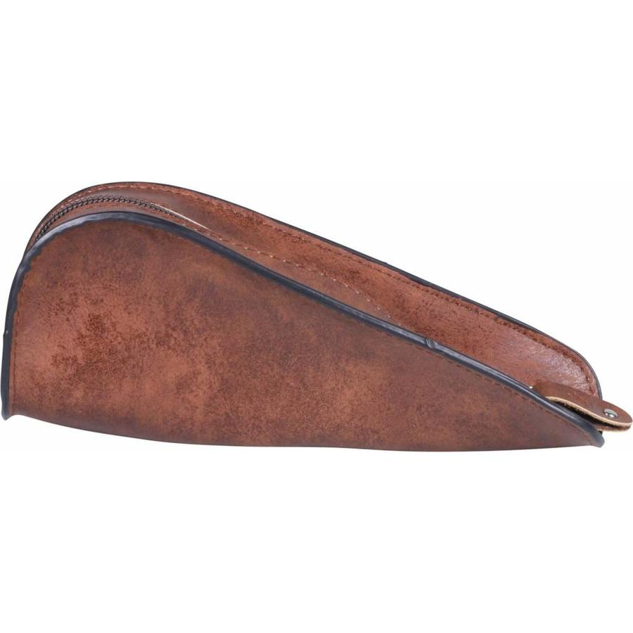 Nappa Pipe Pouch for 1 pipe Dark Brown