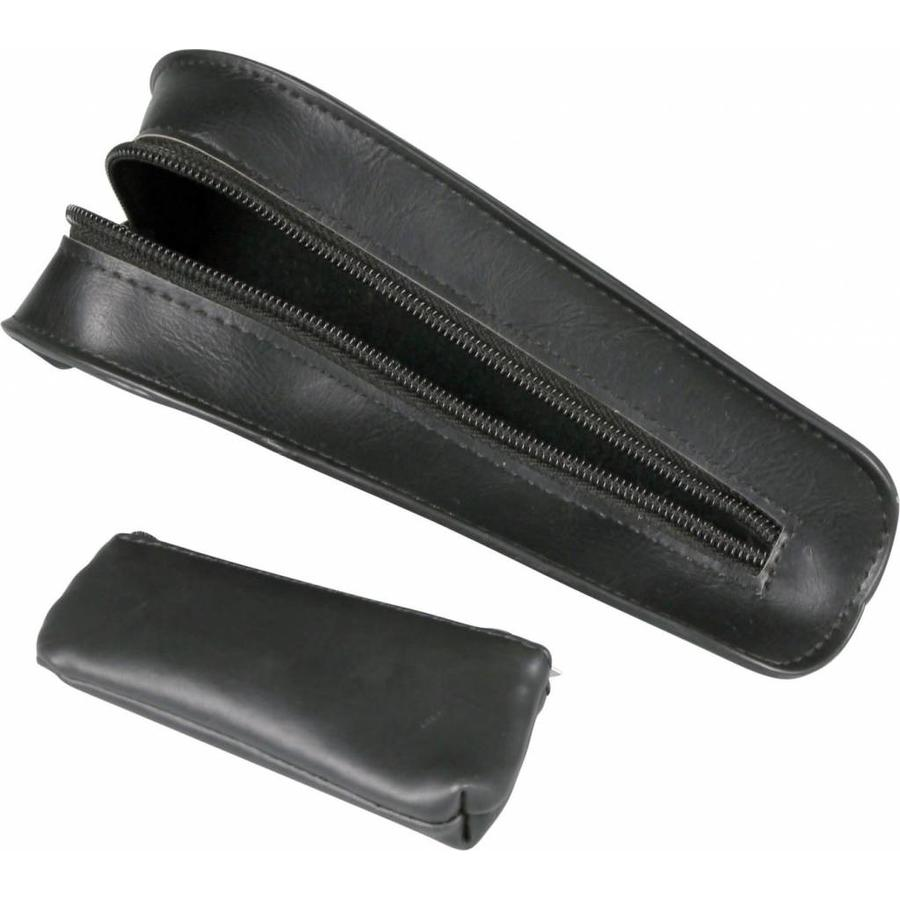 Nappa Pipe Pouch for 1 pipe Black