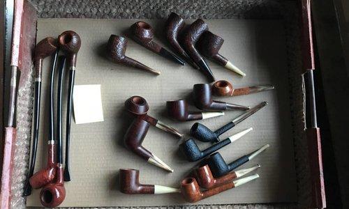 Prachtige selectie Vintage Ropp Pijpen