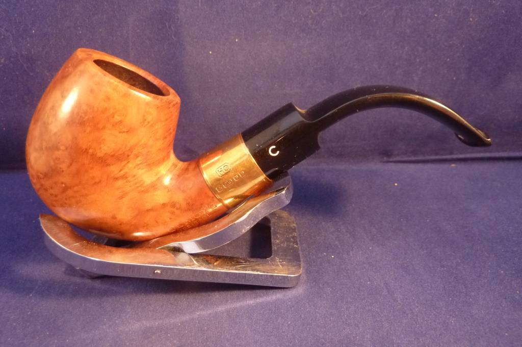 Sold Smoking Pipe Comoy's Heritage 18k Gold Band