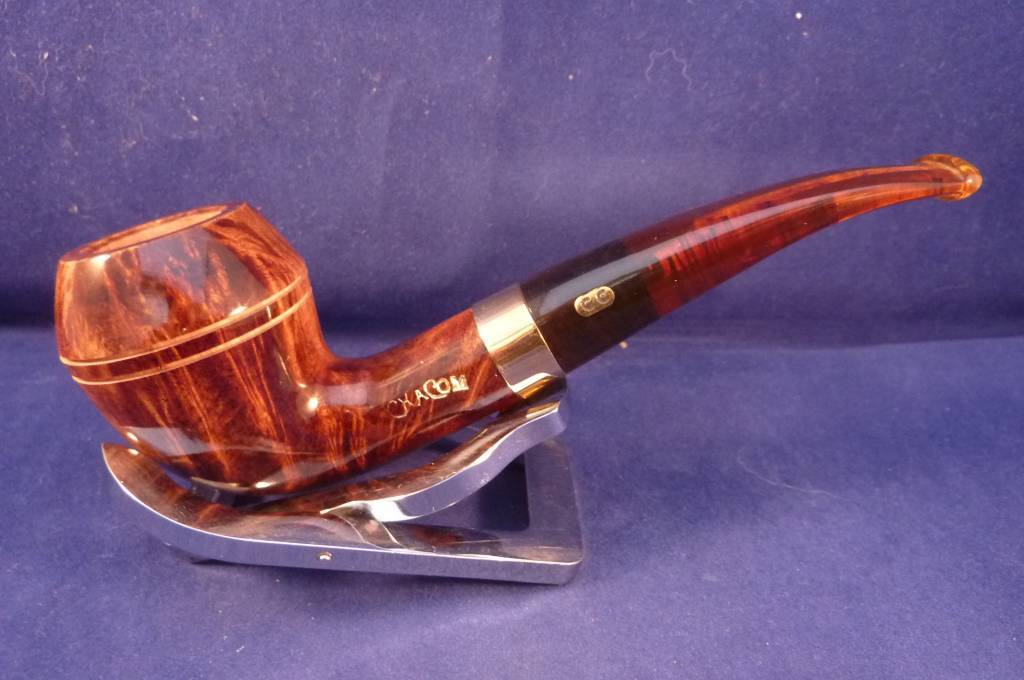Sold Smoking Pipe Chacom Churchill 393