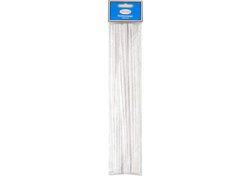 Jean-Claude Pipe Cleaners White XL (30 cm.)