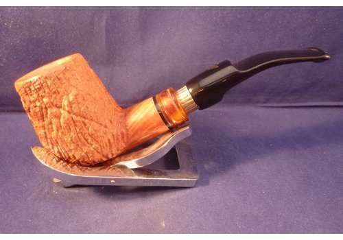 Pipe Luigi Viprati Rusticated Naturale