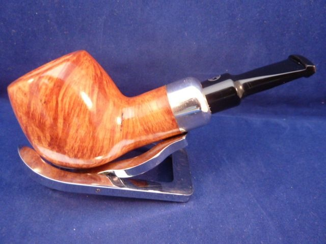 Sold Smoking Pipe Rattray's Chubby Jackey Silver Light