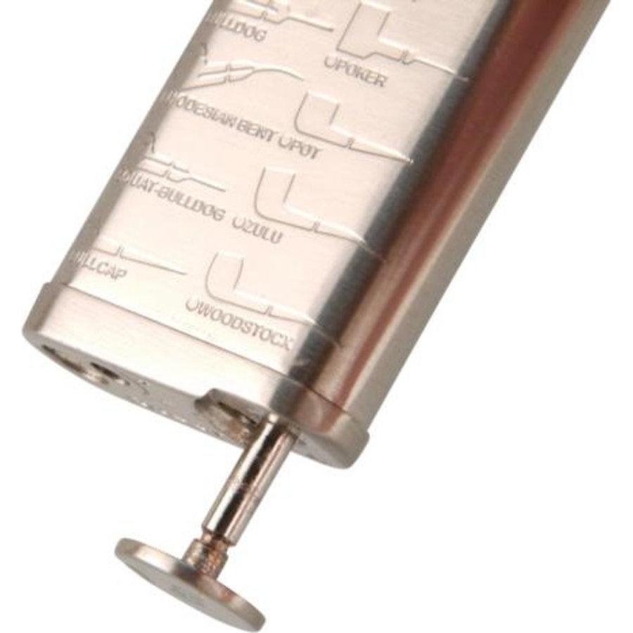 Pipe Lighter Passatore Leonard Nickel