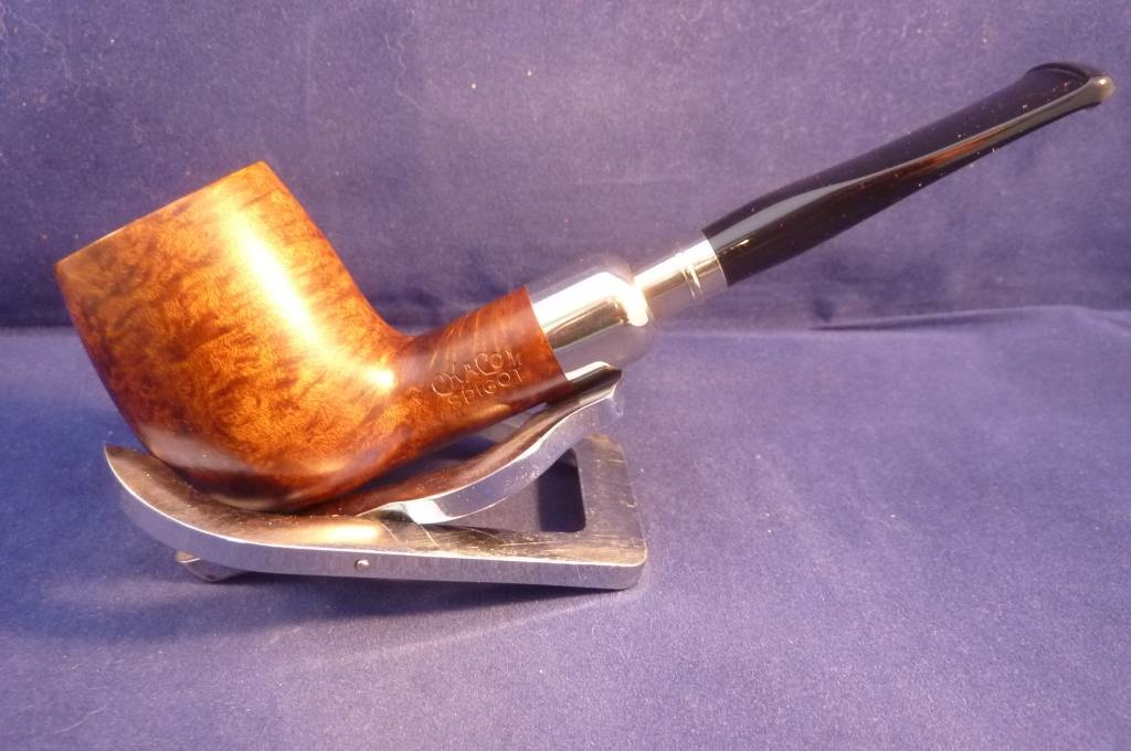 Sold Smoking Pipe Chacom Spigot Brown 185
