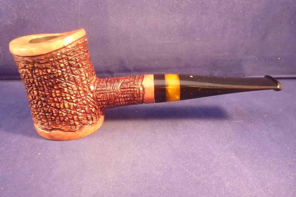Sold Smoking Pipe Mastro Beraldi Rustic Freehand