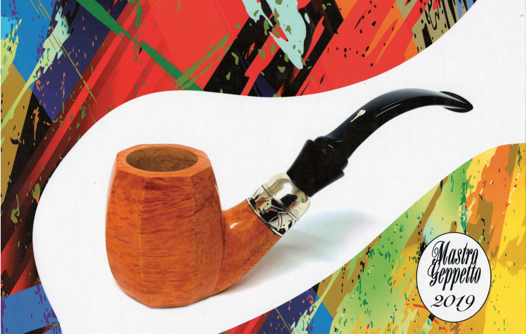 Smoking Pipe Mastro Geppetto Pipe of the Year 2019