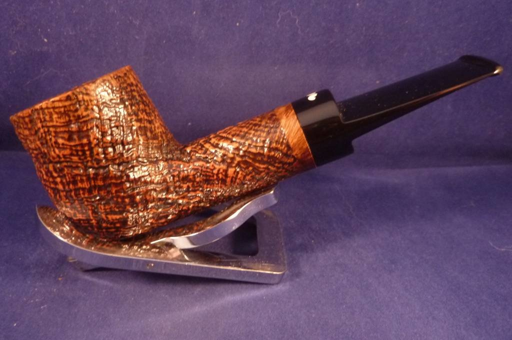 Sold Smoking Pipe Caminetto (06) Sandblasted Billiard