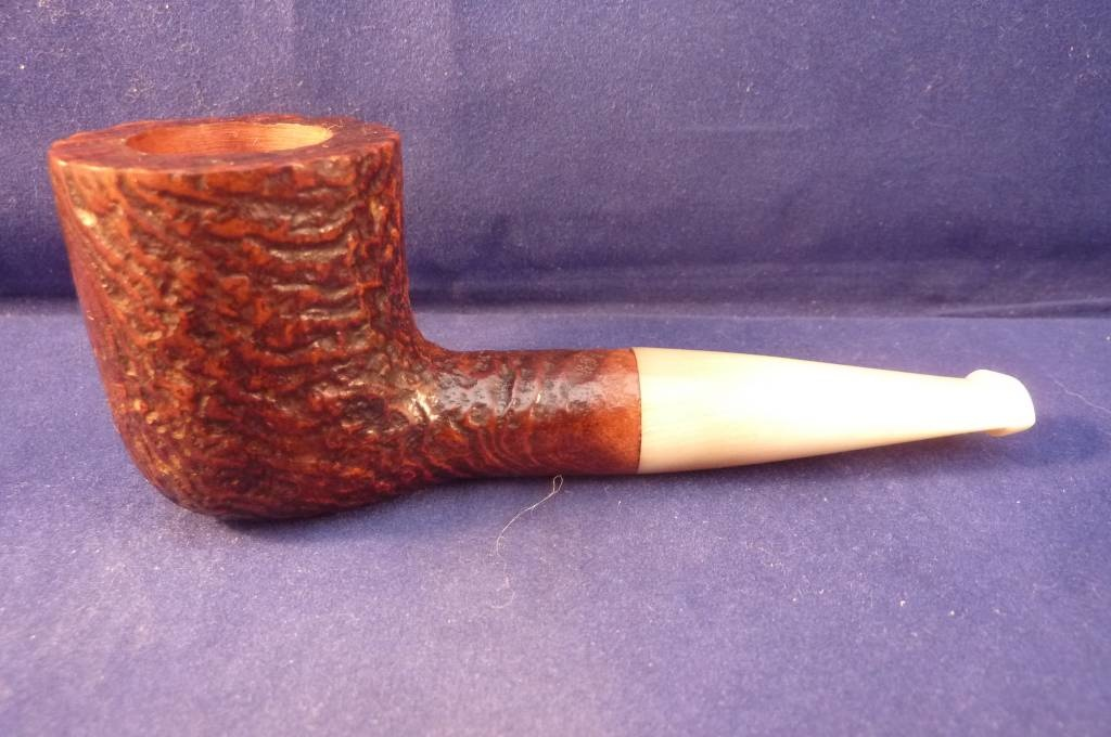 Sold Smoking Pipe Ropp Stout Vintage Sandblasted