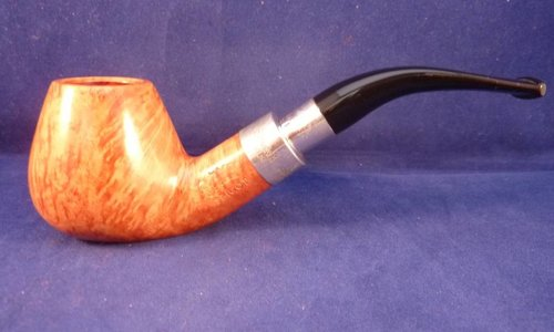 Sold Smoking Pipe Peterson Army Spigot Silver Natural