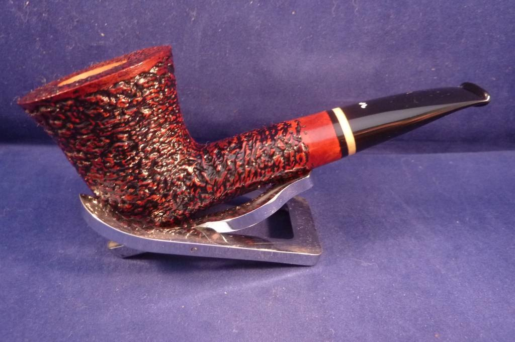 Sold Smoking Pipe Caminetto (08) Rusticated Dublin