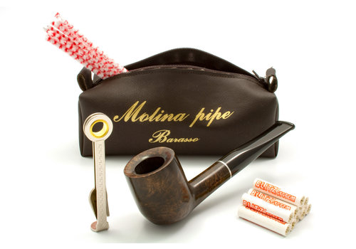 Pipe Molina Beginner Set Brown Billiard