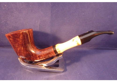 Pipe Mastro Geppetto Liscia 2 with Bamboo