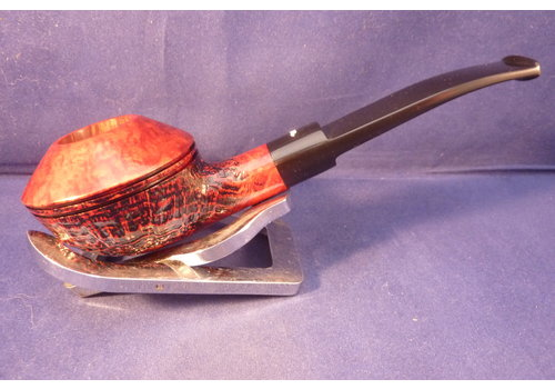 Pipe Caminetto Sandblast Red