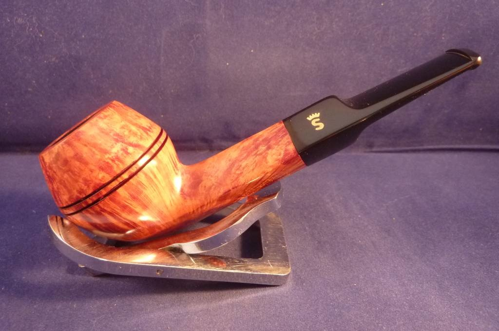 Sold Smoking Pipe Stanwell Flame Grain 32