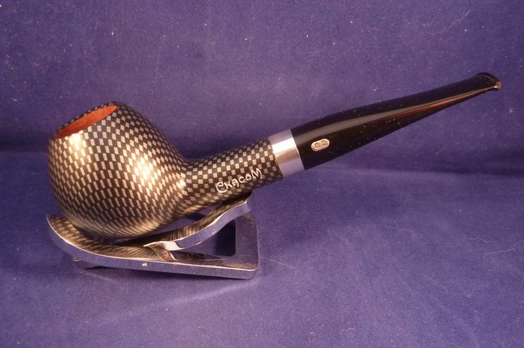 Sold Smoking Pipe Chacom Carbone 424