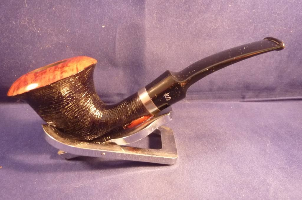 Sold Smoking Pipe Stanwell Revival Brushed Black 162