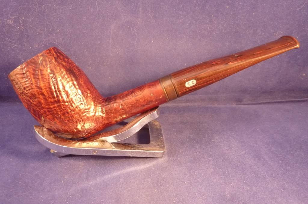 Sold Smoking Pipe Chacom Edition Speciale Sandblasted