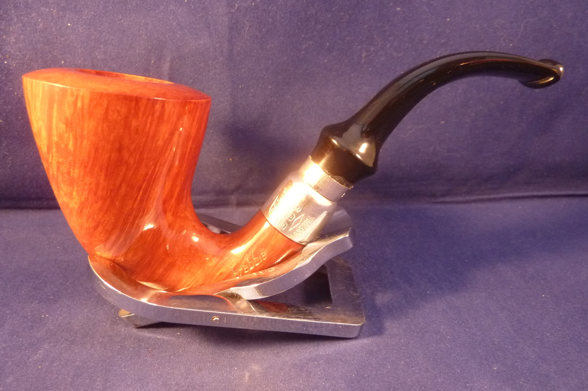 Sold Smoking Pipe Brebbia Calabash First 1997 Selected
