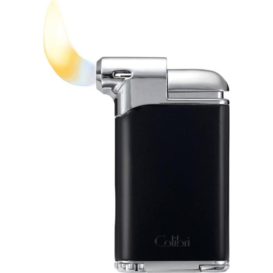Pipe Lighter Colibri Pacific Gun Black