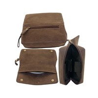 Faro Combo Pipe Pouch Brown for 2 Pipes