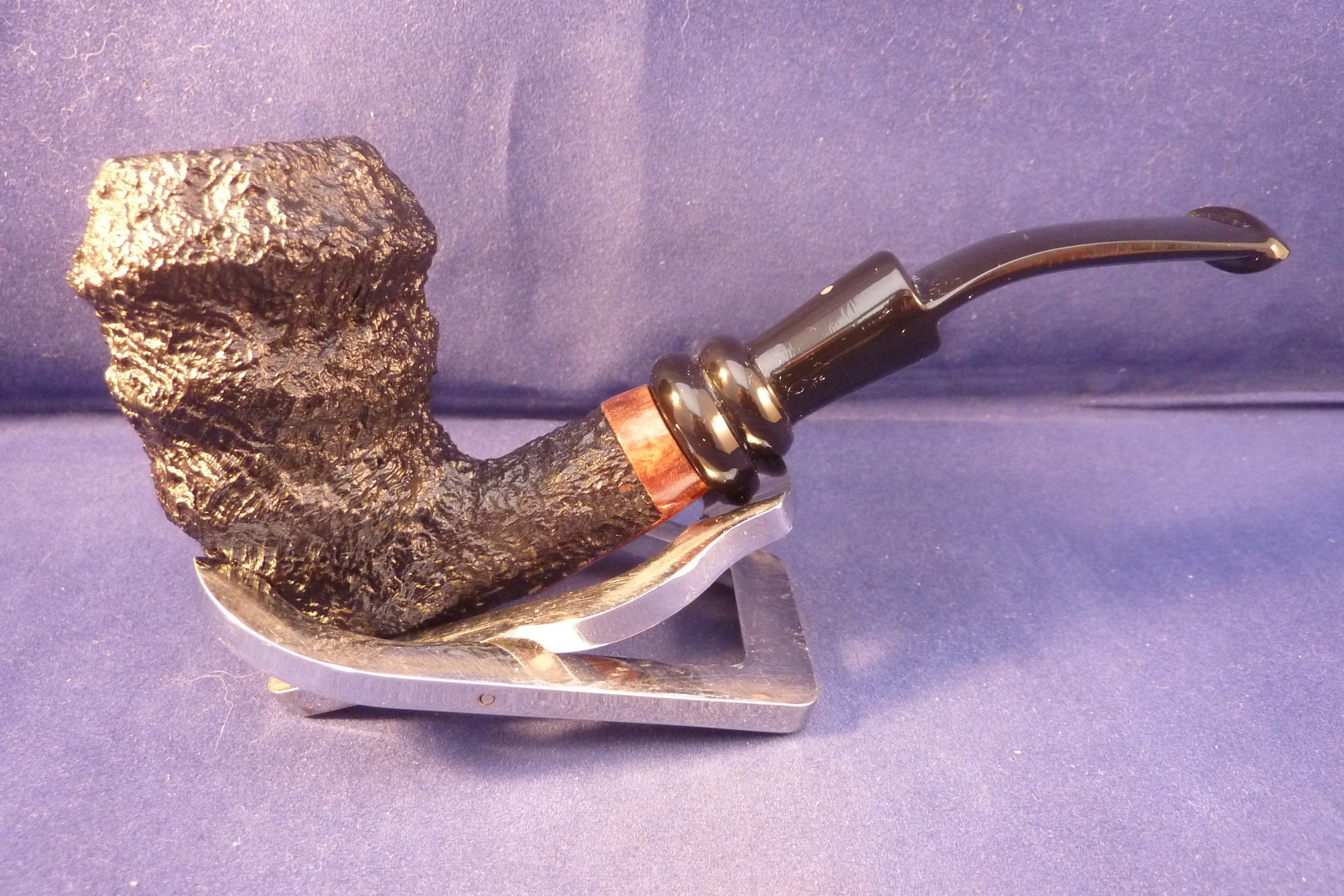 Sold Smoking Pipe Mastro Beraldi Sand Freehand