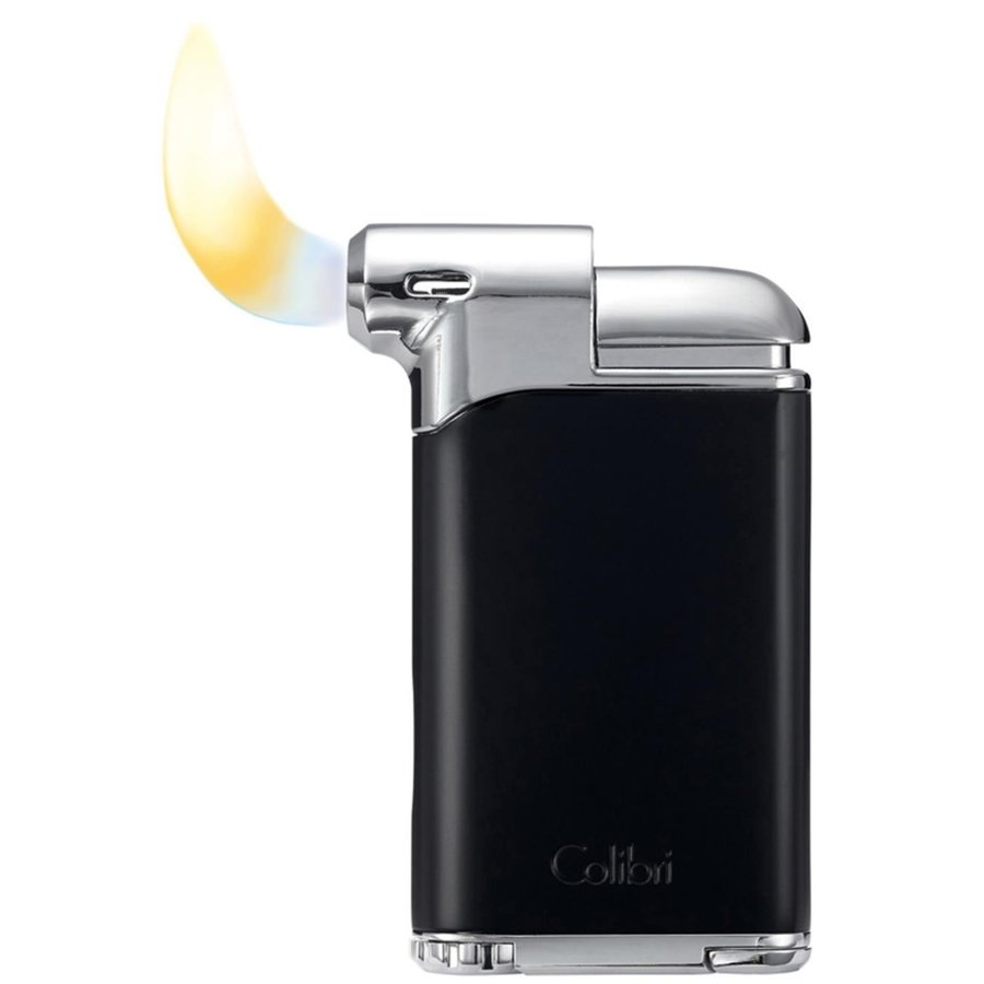Pipe Lighter Colibri Pacific Black Gun