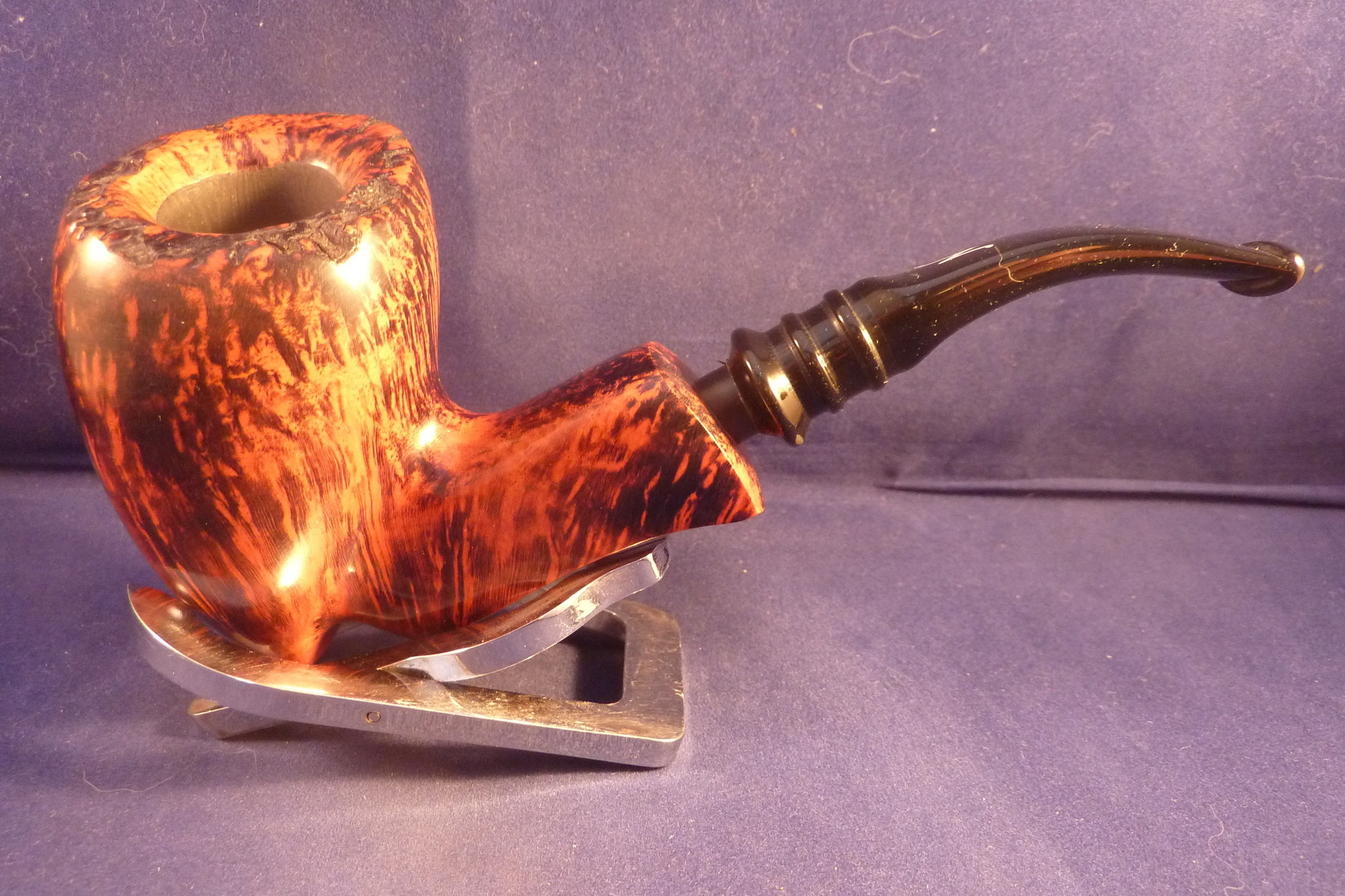 Sold Smoking Pipe Nording Orange Grain 3