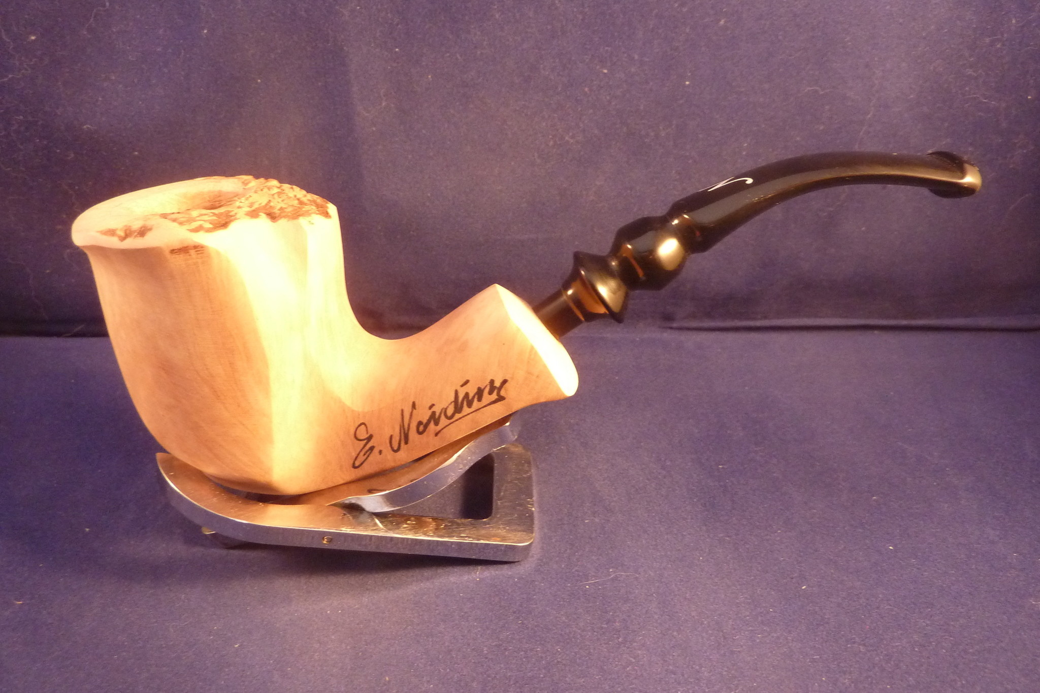 Sold Smoking Pipe Nording Freehand Signature