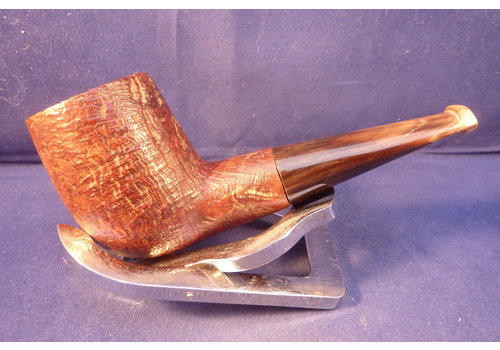 Pijp Ropp Stout Vintage Sandblasted Billiard