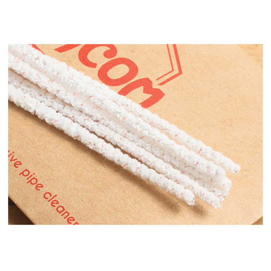 Chacom Pipe Cleaners White Conic with Thorn