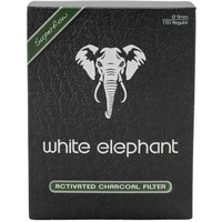 White Elephant 150 Activated Charcoal Filters 9mm.