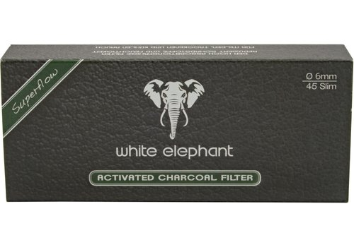 White Elephant Active Charcoal Filter 6 mm.