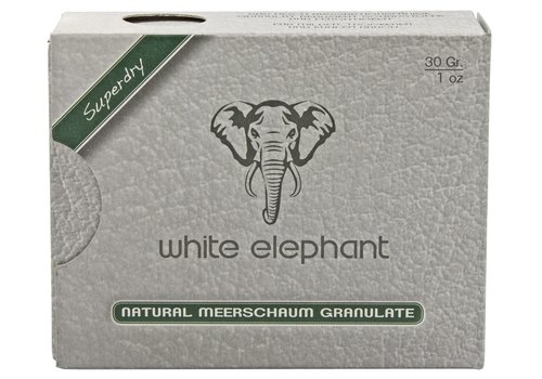 White Elephant Natural Meerschaum Granulate