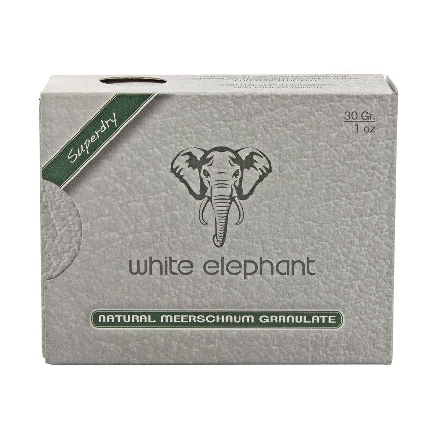 White Elephant Natural Meerschaum Granulate
