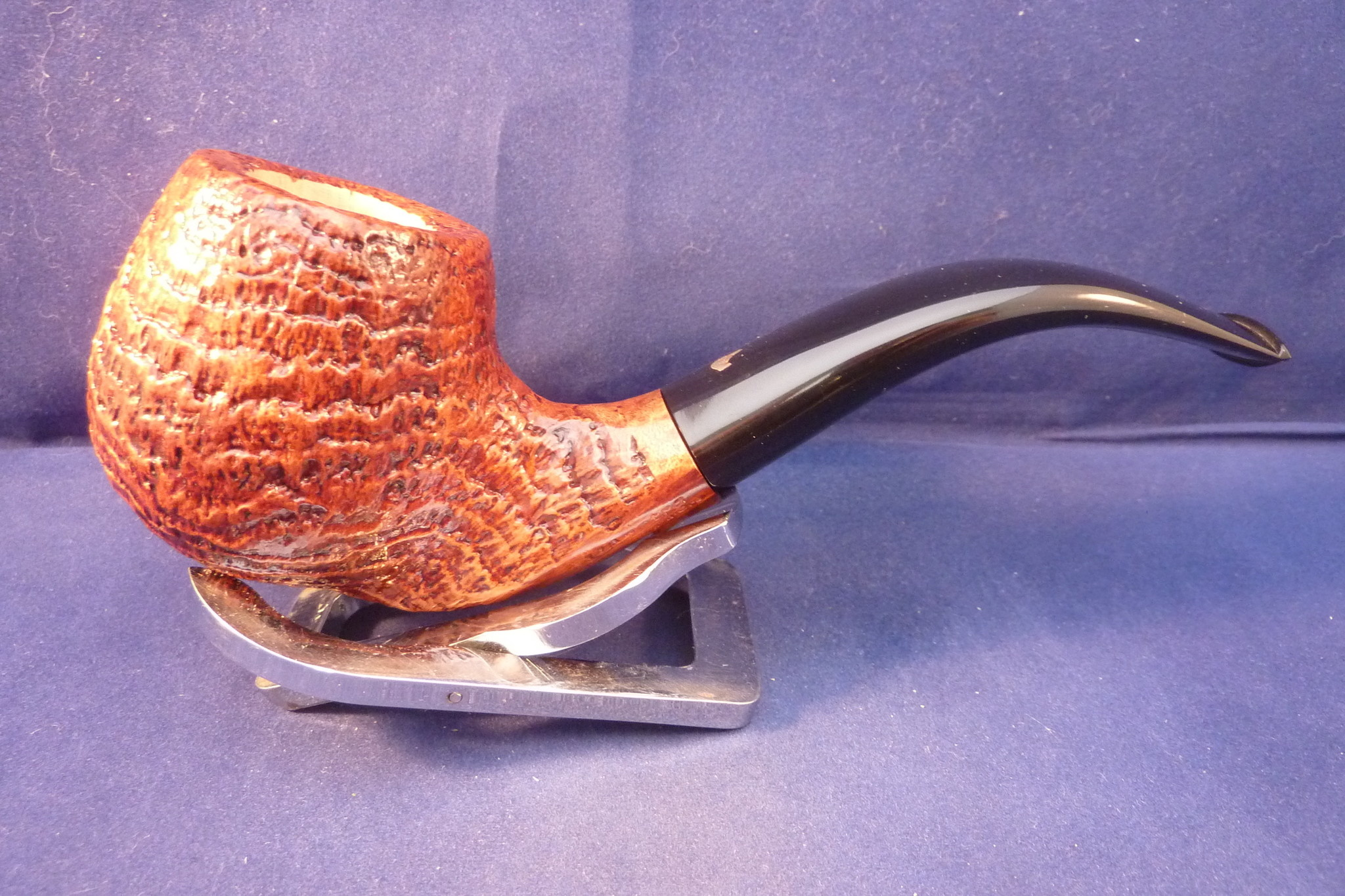 Sold Smoking Pipe L'Anatra Sandblasted