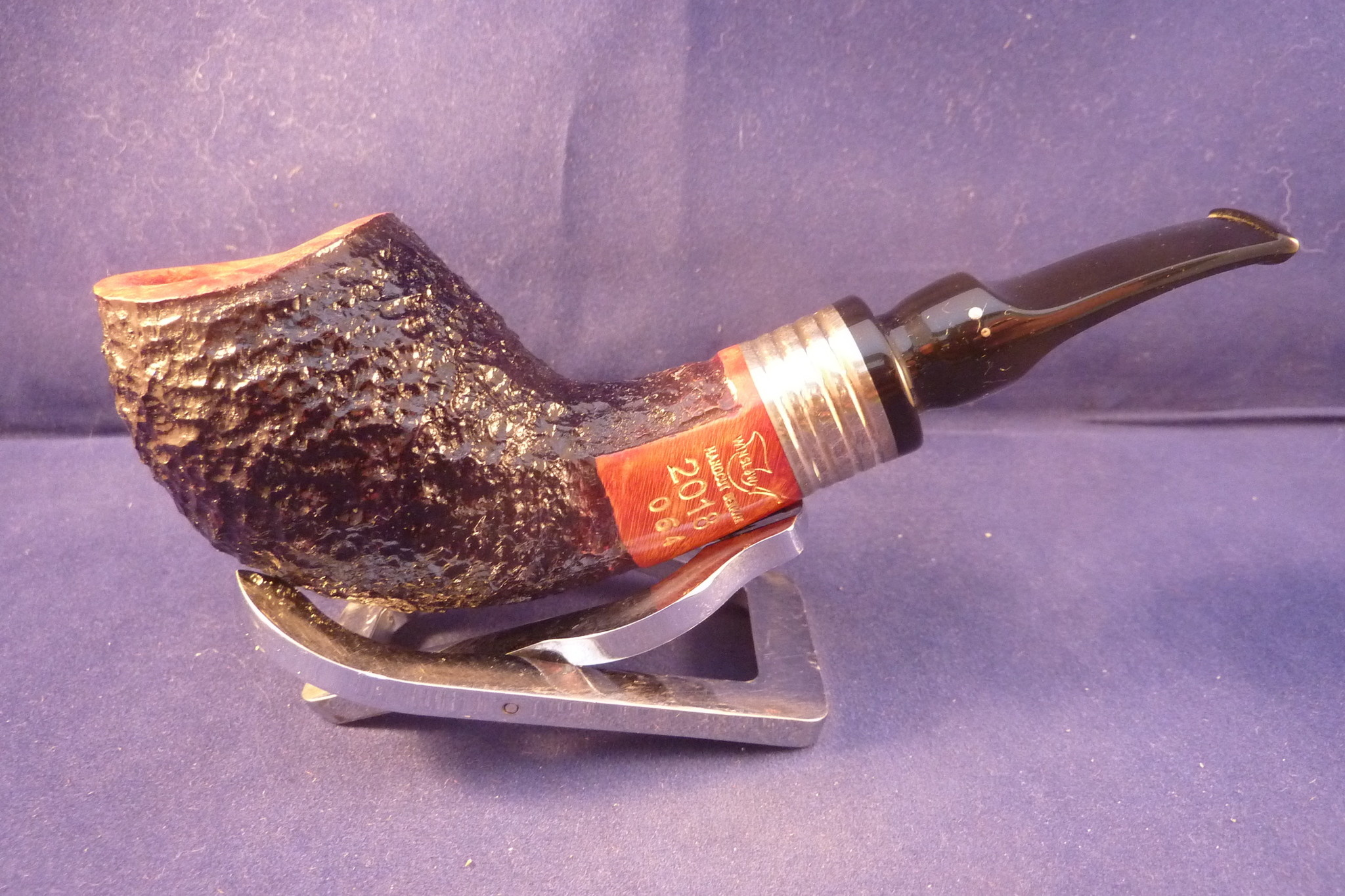 Sold Smoking Pipe Winslow Pipe of the Year 2018 Rustic