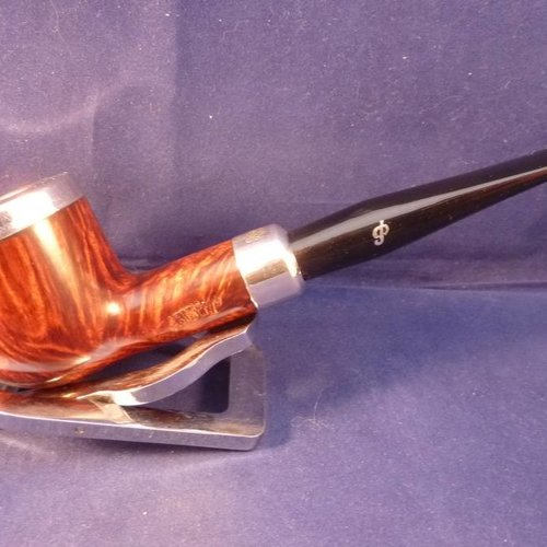 Sold Smoking Pipe Peterson Silver Cap 606