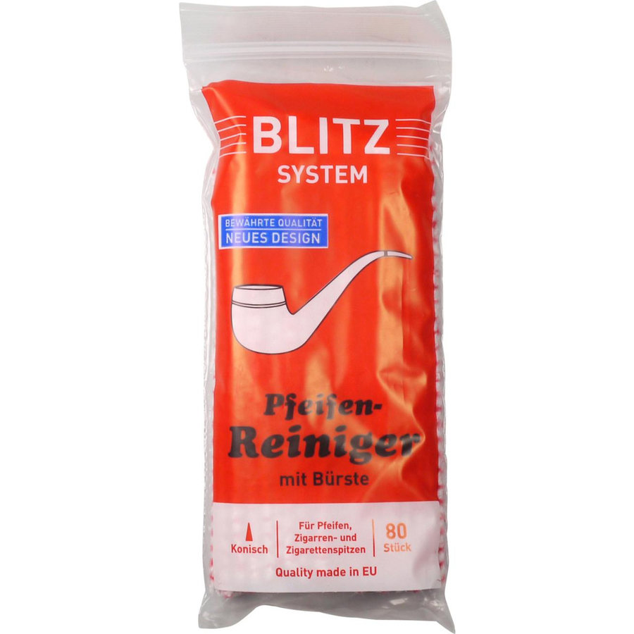 Blitz Pipe Cleaners Red/White